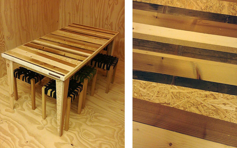 Tafel Productie Concept - Made In Moerwijk, Den Haag