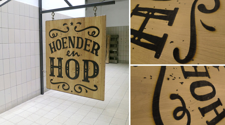 Hoender En Hop - Grote Markt - Den Haag - Signage